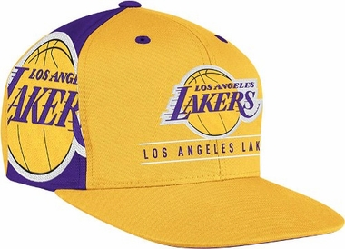 Los Angeles Lakers Side Logo Snap Back Hat