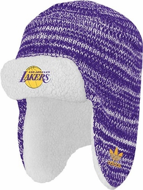 Los Angeles Lakers Trooper Knit Hat