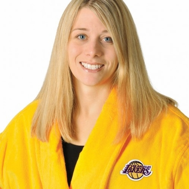 Los Angeles Lakers UNISEX Bath Robe (Team Color)