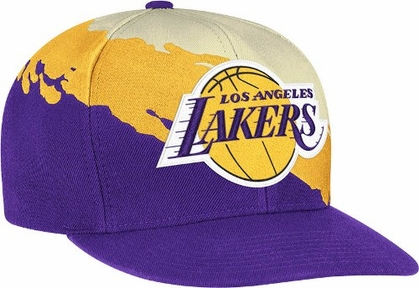 Los Angeles Lakers Vintage Paintbrush Snap Back Hat