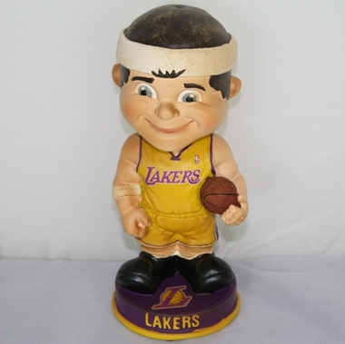 Los Angeles Lakers Vintage Retro Bobble Head