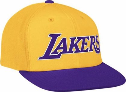 Los Angeles Lakers Vintage Snapback Hat