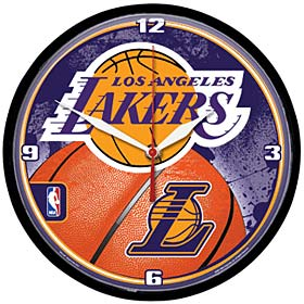 Los Angeles Lakers Wall Clock