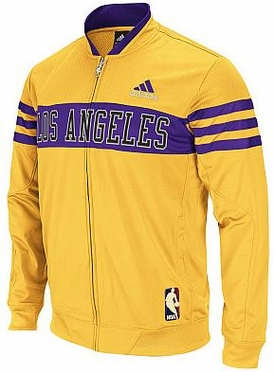 Los Angeles Lakers Walter Brown On-Court Jacket