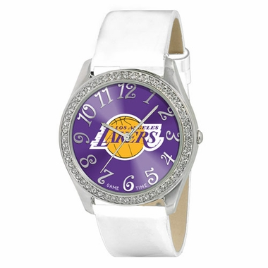 Los Angeles Lakers Women's Glitz Watch