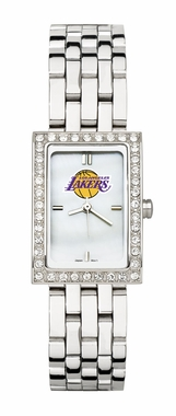 Los Angeles Lakers Women's Steel Band Allure Watch