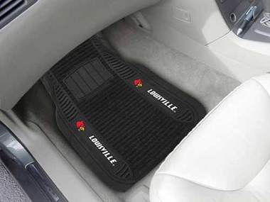 Louisville 2 Piece Heavy Duty DELUXE Vinyl Car Mats