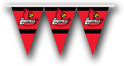Louisville 25 Foot String of Party Pennants (P)