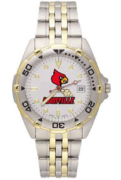 Louisville All Star Mens (Steel Band) Watch