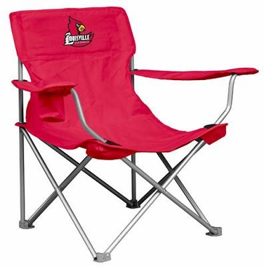 Louisville Canvas Adult Folding Logo Chair