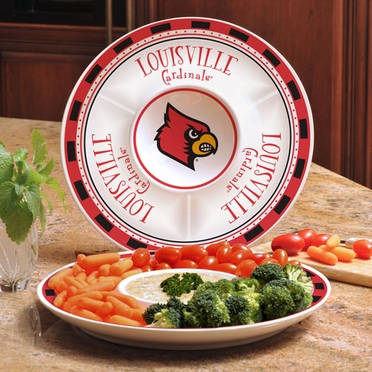 Louisville Ceramic Chip and Dip Plate