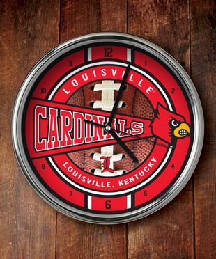 Louisville Chrome Clock