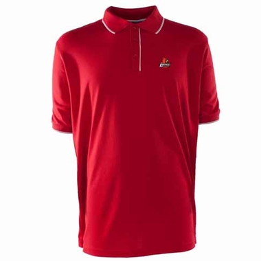 Louisville Mens Elite Polo Shirt (Team Color: Red)