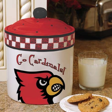 Louisville Gameday Ceramic Cookie Jar