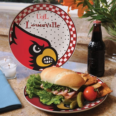 Louisville Gameday Ceramic Plate