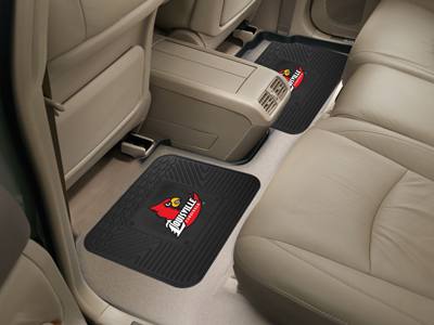 Louisville SET OF 2 Heavy Duty Vinyl Rear Car Mats