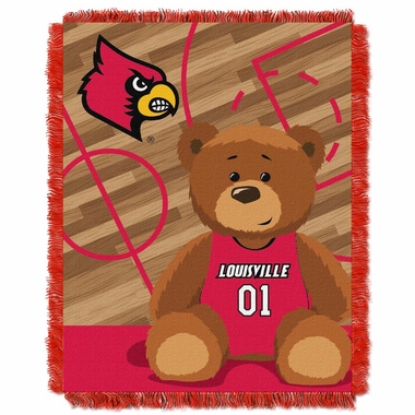 Louisville Jacquard BABY Throw Blanket