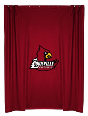 Louisville Jersey Material Shower Curtain