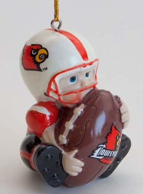 Louisville Lil Fan Ornaments (Set of 2)