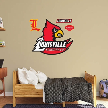 Louisville Logo Fathead Wall Graphic