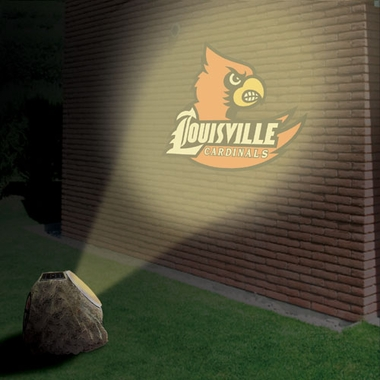 Louisville Logo Projection Rock