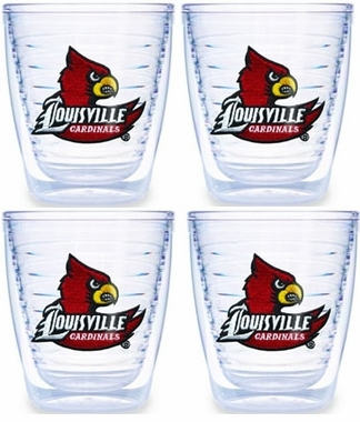 Louisville Set of FOUR 12 oz. Tervis Tumblers