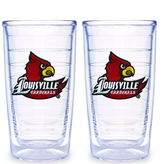Louisville Set of TWO 16 oz. Tervis Tumblers