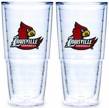 Louisville Set of TWO 24 oz. Tervis Tumblers
