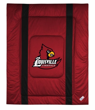 Louisville SIDELINES Jersey Material Comforter