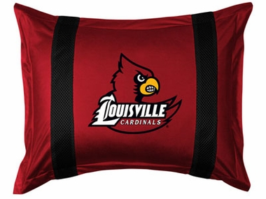 Louisville SIDELINES Jersey Material Pillow Sham