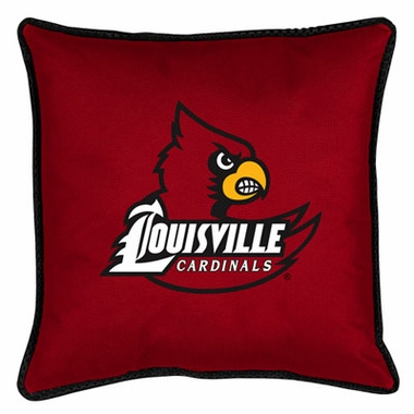 Louisville SIDELINES Jersey Material Toss Pillow