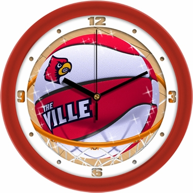 Louisville Slam Dunk Wall Clock