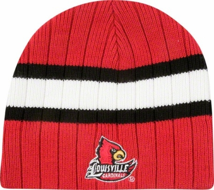 Louisville Stinger Cuffless Knit Hat Beanie