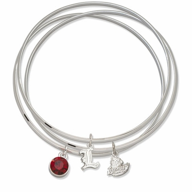 Louisville Triple Bangle Bracelet