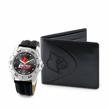Louisville Watch and Wallet Gift Set