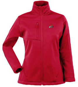 Louisville Womens Traverse Jacket (Team Color: Red) - Large