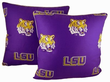 LSU 16 x 16 Decorative Pillow Set