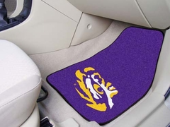 LSU 2 Piece Car Mats