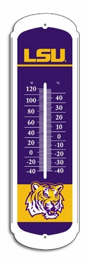 LSU 27 Inch Outdoor Thermometer (P)
