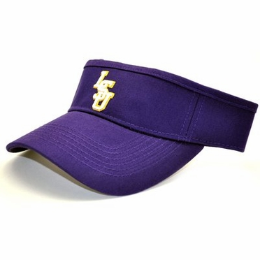 LSU Adjustable Birdie Visor