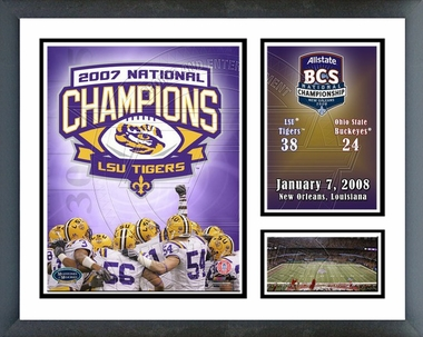LSU BCS Champs Milestones and Memories