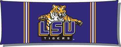 LSU Body Pillow