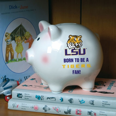 LSU (Born to Be) Piggy Bank