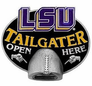 LSU Bottle Opener Hitch Cover