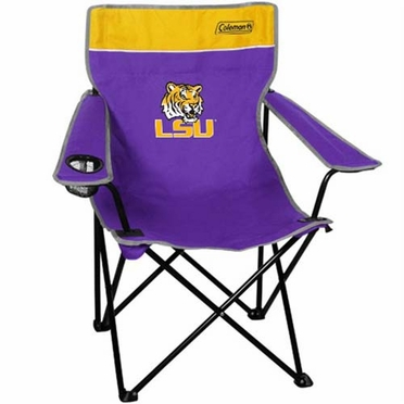 LSU Broadband Quad Tailgate Chair