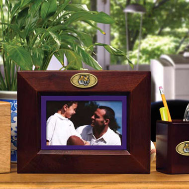 LSU BROWN Landscape Picture Frame