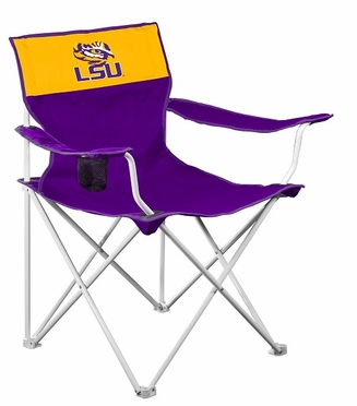 LSU Canvas Adult Folding Logo Chair