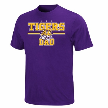 LSU College Dad T-Shirt
