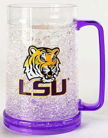 LSU Crystal Freezer Mug