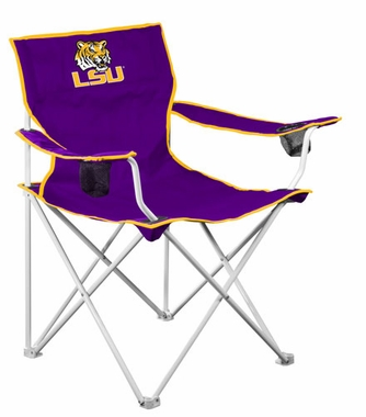 LSU Deluxe Adult Folding Logo Chair